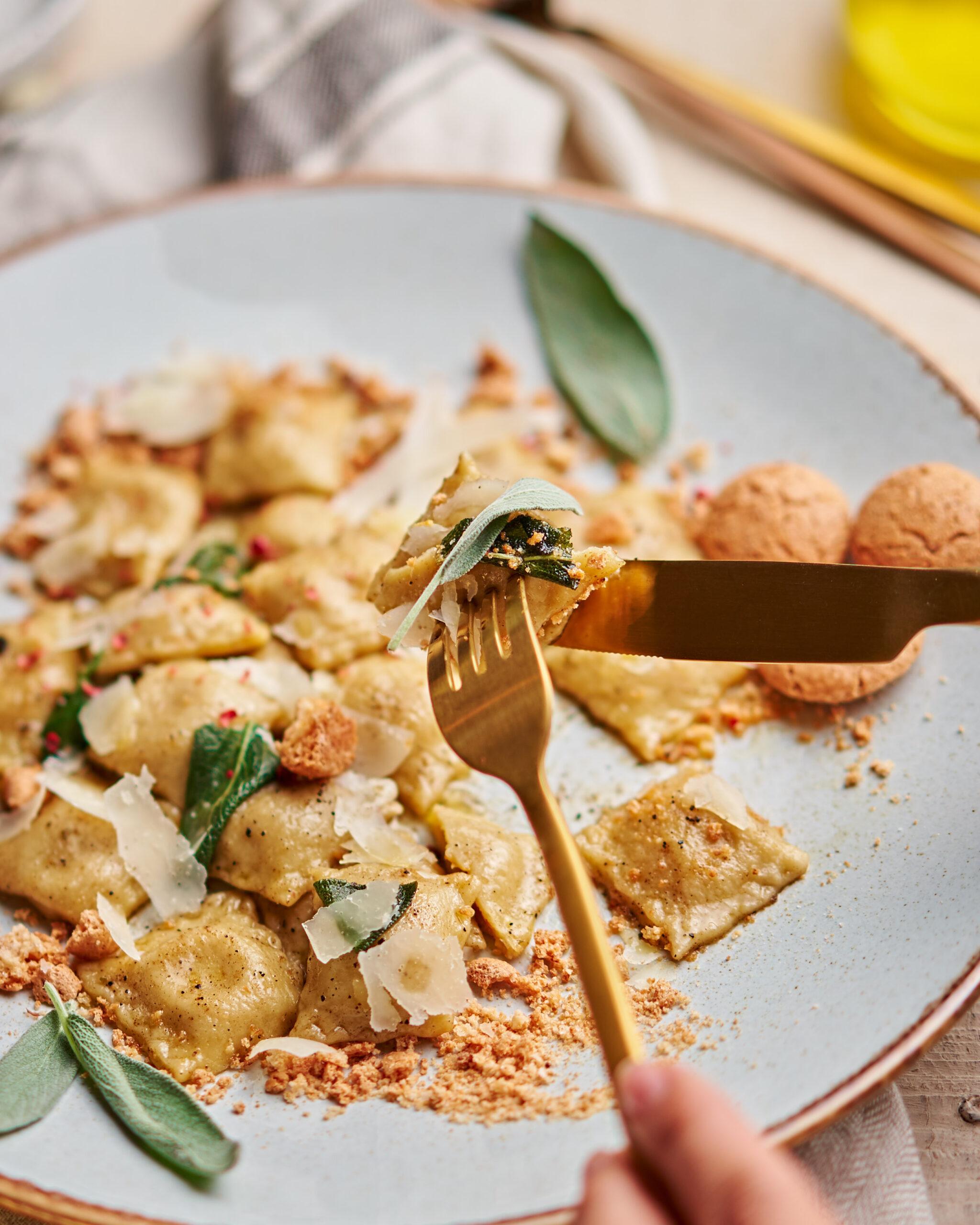 Włoskie ravioli